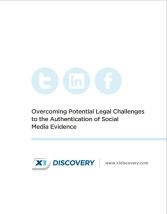 The Authentication of Social Media Evidence - Download Now