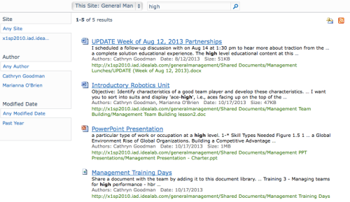 SharePoint blog 1